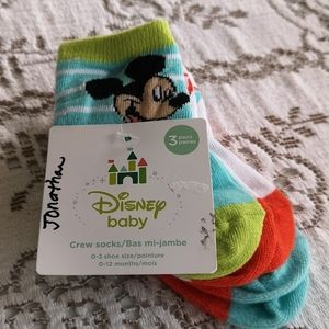 Disney Socks Set (Mickey)